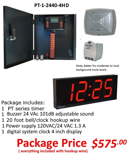 School Bell Timers PT-1-2440